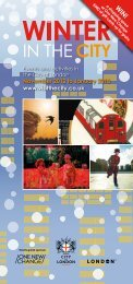 Winter in the City brochure - the City of London Corporation