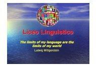 Liceo Linguistico - G. Veronese