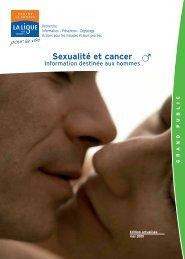 Sexualité et cancer chez l'Homme - Ligue contre le cancer - comité ...