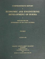 nomic and engineer! development of burma - Nathan Associates
