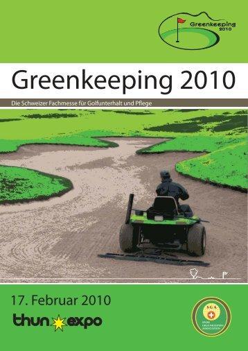 Greenkeeping 2010 - swiss greenkeeper association sga