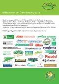 Greenkeeping 2010 - swiss greenkeeper association sga - Page 2