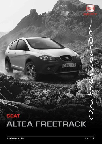 AlTEA FrEETrAck SEAT - J.H. Keller AG