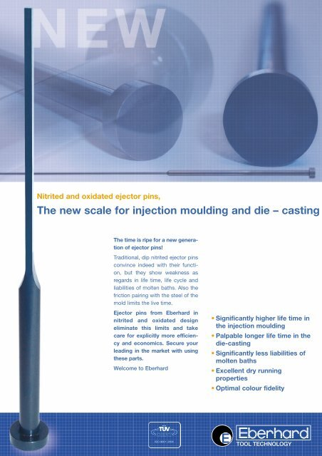 The new scale for injection moulding and die – casting