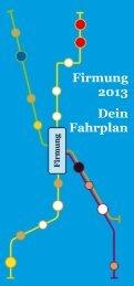 Firmung 2013 Dein Fahrplan - Katholisches Oberursel