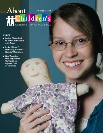 INSIDE – Patient Makes Dolls To Help - Childrens Hospital of ...
