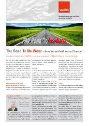 The Road To No Wear - Sanshine Communications GmbH