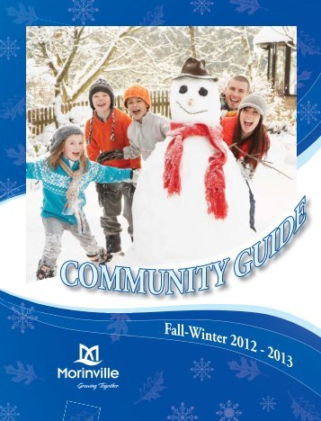 Fall-Winter 2012 - 2013 - Town of Morinville