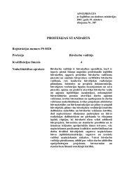 PROFESIJAS STANDARTS - NIID.LV