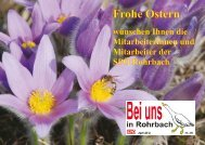 Frohe Ostern - Unser Rohrbach