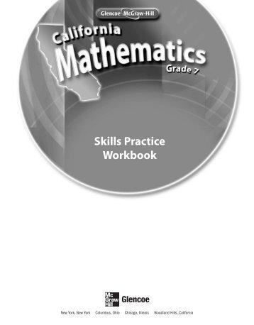Skills Practice Workbook Glencoe