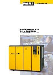 Compresseurs à vis Série DSD/DSDX