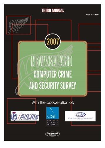 2007 CC&SS Report - Otago University Research Archive