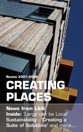 Creating Places magazine - London & Quadrant Group