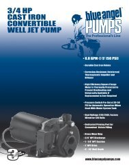3/4 hp cast iron convertible well jet pUMp - Pump Express