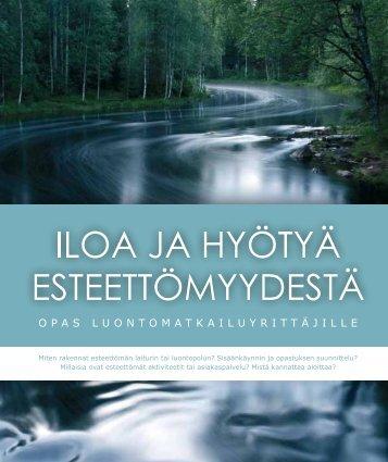 Esteettömyysopas - Outdoors Finland