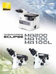Inverse Mikroskope für die Metallurgie - Nikon Metrology