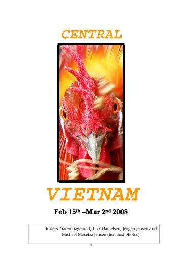 Central Vietnam birding trip report - February 2008 - Birdwatching ...