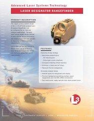 Advanced Laser Systems Technology LASER DESIGNATOR ...