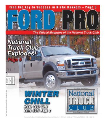 Volume 1, Issue 1 - National Ford Truck Club