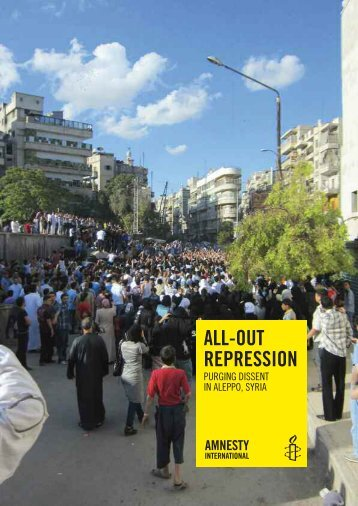 all-out repression - Amnesty International