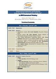 Workshop Programme - www .iene .gr