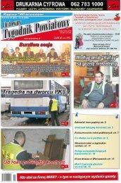 Wypadek w Żdżarach - Tygodnik powiatowy
