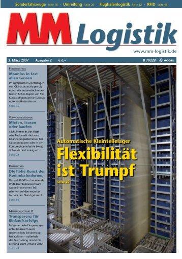 40-Mio.-Euro-Auftrag aus Los Angeles - MM Logistik
