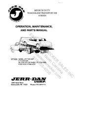 medium duty wrangler transp - Eastern Wrecker Sales Inc