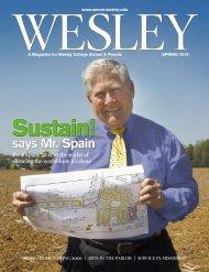WESLEY SPRING 2010 - Wesley Magazine - Wesley College