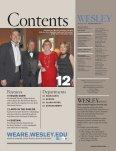 WESLEY SPRING 2010 - Wesley Magazine - Wesley College - Page 3