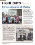 WESLEY SPRING 2010 - Wesley Magazine - Wesley College - Page 4