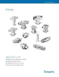 Filtros, Séries FW, F e TF, (MS-01-92, R6) - Swagelok