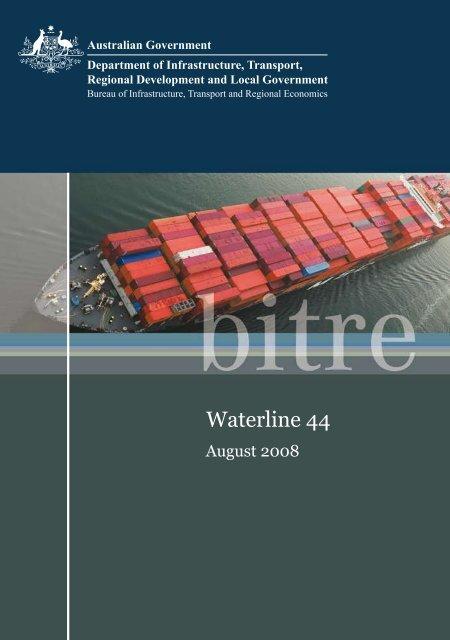 PDF: 1352 KB - Bureau of Infrastructure, Transport and Regional ...