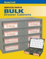 Bulk Drawer Cabinets Maximize Your Selling Space ... - BrassCraft