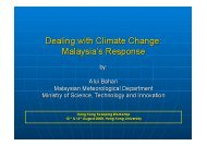 As a developing country, Malaysia is required to implement her ...