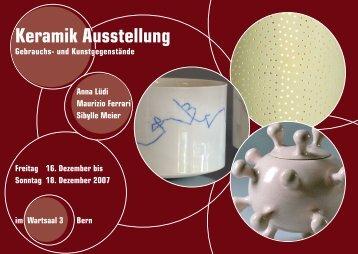Keramik Ausstellung - sibylle meier keramik