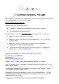 l2p learner selection criteria - Mornington Peninsula Shire Youth ... - Page 3