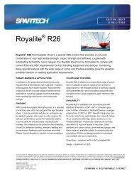 Royalite R26 - Spartech Corporation