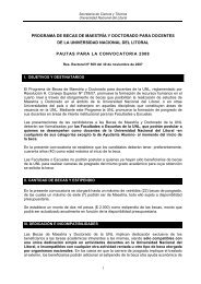 Pautas Convocatoria - Facultad de Ciencias Veterinarias