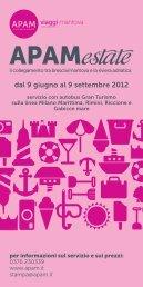 dal 9 giugno al 9 settembre 2012 - Turismhotels