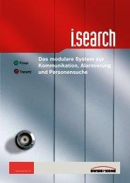 i.search auf einen Blick Module in der Übersicht - Swissphone