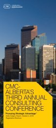 Download Conference Brochure - Canadian Association of ...