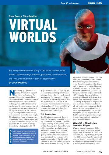 Open Source 3D animation - Linux Magazine