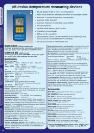 pH-/redox-/temperature measuring devices - Iberica de Automatismos