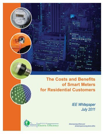 The Costs and Benefits of Smart Meters for Residential Customers