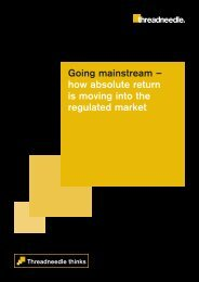 Going mainstream – how absolute return is moving into the ...