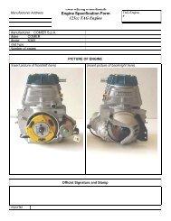 125cc TAG Engine - Finndrive