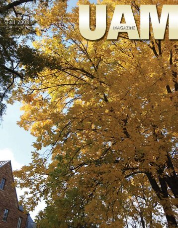 Fall 2008 - University of Arkansas at Monticello