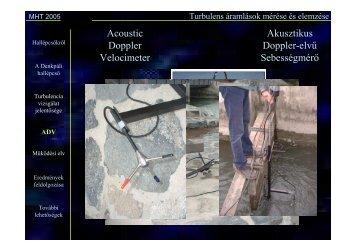 Sebesség idősorok statisztikai elemzése (PDF)